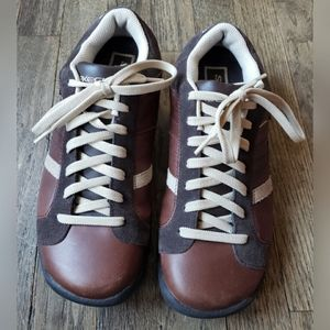Skechers Brown Tan Sneaker Lace Up Genuine Leather